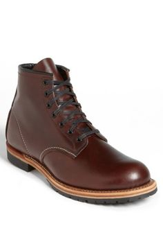 RED WING 'BECKMAN' BOOT. #redwing #shoes #