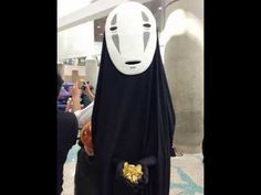 How to make No Face Mask from Spirited Away - YouTube