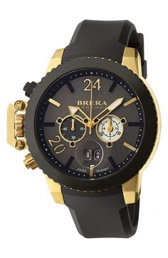 Brera+Orologi+Brera+'Militare+II'+Round+Chronograph+Watch,+48mm+available+at+#Nordstrom