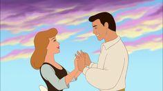 Cinderella and Prince Charming Disney Wiki, Disney Magic, Disney Art, Disney Movies, Disney Pixar, Walt Disney, Disney Characters, Disney Icons, Cinderella Cartoon