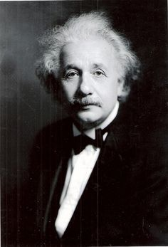 Albert Einstein Judaica Glossy Black White Photograph