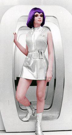 Lt Gay Ellis - Gabrielle Drake - UFO - UK TV series 1970