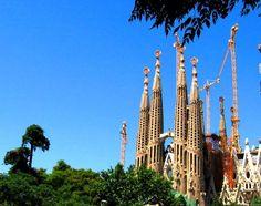La Familia Sagrada. Gaudi. Barcelona. Bucket List item.