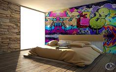 #calore #materiali #calore #graffiti Render C4dforVray