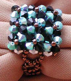 Ring aus Perlen, Bastelanleitung für einen Ring aus Perlen