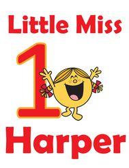 Little Miss Sunshine Party Birthday Tshirt Iron On Transfer