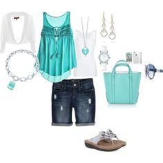 Tiffany Green! Pops of Aqua, pops of Tiffany & Co, Spring to Summer.