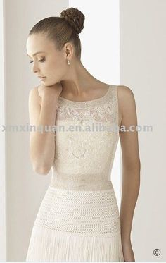 This dress may not look like much, but if you click on it to get a larger view, I just love the detail on the bodice.