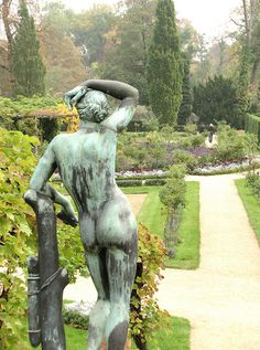 Statue - Looking out on the Garden