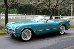 1955 Chevrolet Corvette..Re-pin....Brought to you by Agents of #CarInsurance at #HouseofinsuranceEugene