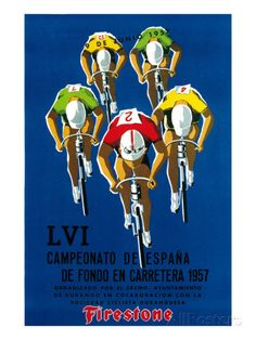 Bicycle Race Promotion Art par Lantern Press sur AllPosters.fr