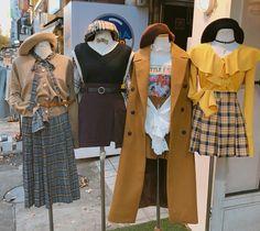 Check these out womens korean fashion Korean Fashion Trends, Korea Fashion, Asian Fashion, Girl Fashion, Fashion Outfits, Womens Fashion, Fashion Design, Kpop Outfits, Korean Outfits