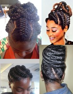African Goddess Braids  African Goddess Braids  Well, you should agree with us that African women look amazing, chic and elegant when their hair is styled into African goddess braids. There is no question of doubt that African goddess braids won't charm your looks and make heads turn irrespective of the occasion you are dressing for.  May be it all begun from Africa were women had the desires to look like goddess so they decided to give it a try by styling their hair into African goddess…