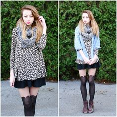 Leopard (by Megan Brigance) http://lookbook.nu/look/4213329-Leopard