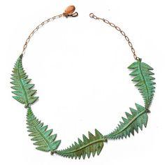 Halskette Fern, 48€, jetzt auf Fab.