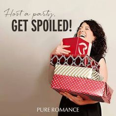 Host a party.get spoiled Host A Party, For Your Party, Hostess Wanted, Pure Romance, Bedroom Accessories, Party Entertainment, Secret Santa, Boss Babe, Girls Night