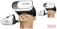 Virtual Reality Headset Just $15 Or $25 For 2!  PLUS FREE Shipping!