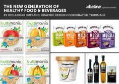 The New Generation of Healthy Food &Beverages - The Dieline -