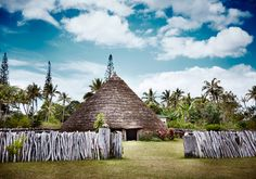 Region : New Caledonia Geography: Pacific Country : France Traditional house of Kanaks people Aboriginal People, Caillou, Julien, Solomon Islands, Vanuatu, Papua New Guinea, Fiji, Madagascar, Traditional House