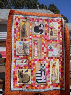 Jackie's Cats .... I just have to make this !!!!