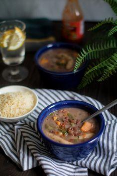 Spicy Vegan Jamaican Stew Peas via Jamaican Stew Peas, Jamaican Cuisine, Jamaican Dishes, Jamaican Recipes, Delicious Vegan Recipes, Vegetarian Recipes, Healthy Recipes, Amazing Recipes, Healthy Meals