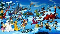 "Comic Mint - Animation Art - ""Bedrock Wonderland"" Signed by Bill Hanna & Joe Barbera Christmas Cartoon Movies, Christmas Cartoons, Christmas Time, Christmas Comics, Xmas, Cozy Christmas, Classic Cartoon Characters, Classic Cartoons, Vintage Cartoon"