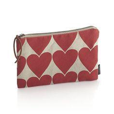 Hearts Zipper Case