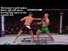 Breakdown of head movement in MMA - what it does for you, how it can be countered, and how you can mitigate those risks. Diaz Ufc, Connor Mcgregor, Fall Shorts, Washington Dc Wedding, Bud Light, Dc Weddings, Wedding Catering, Mma, Martial Arts