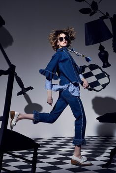 Karen Walker New York Spring/Summer 2017 Ready-To-Wear Collection