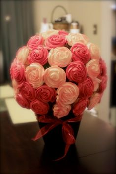 Cupcake bouquet! I want one!!