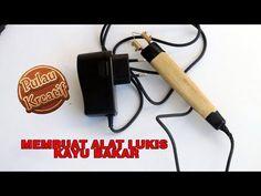 MEMBUAT PENA PYROGRAPH lukis kayu bakar - YouTube Wood Burning Pen, Wood Burning Crafts, Pyrography Tools, Diy And Crafts, Youtube, Printer, Gabriel, Gourd Art, Homemade Tools