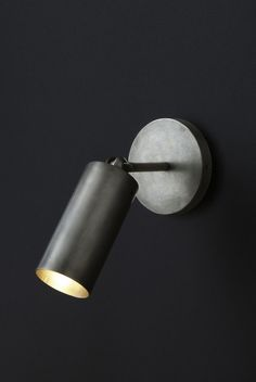 Cylinder sconce, Apparatus