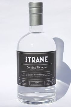 Swedish distiller Smögen Whisky has released the second batch of its Strane London dry gin in the UK, with an abv of related to Product launches, Spirits, Whisky, Gins Of The World, Gin Brands, London Dry Gin, Gin And Tonic, Vodka Bottle, Trail, Strength, Product Launch