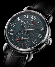 Voutilainen - GMR. The movement is developed and hand-crafted from start to finish inside the master watchmaker's workshops.