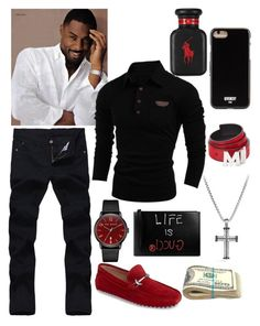 """Black Spades 2 ♠️❤️"" by jaylinehilson on Polyvore featuring ALDO, David Yurman, Ted Baker, Gucci, MCM, Givenchy, Ralph Lauren, men's fashion and menswear"