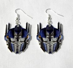 Optimus Prime earrings