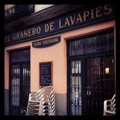 """""""El granero de Lavapies"""" restaurante vegetariano en Madrid"""