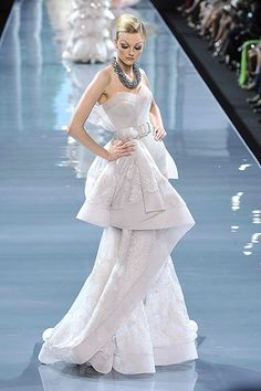 Christian Dior Haute Couture Fall/Winter 2008.  Paris Fashion Week