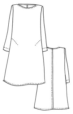 Ever since we released our Gabby Dress, we've had sooooo many requests for a long sleeve version that we decided to create our newest pattern, the Bella Dress. Like Gabby, she's flowy and a-line but Sewing Dress, Dress Sewing Patterns, Sewing Clothes, Clothing Patterns, Diy Clothes, Linen Dress Pattern, Tunic Pattern, Simple Dress Pattern, Sewing Blogs