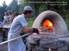 outdoor oven!