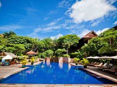Resort Saltwater Swimming Pool at 5 star hotel: Victoria Angkor Resort & Spa. This hotel's address is: P. Box 93145 and have 130 rooms Asian Architecture, Colonial Architecture, Hotel Victoria, Siem Reap, Hotels And Resorts, Maldives Hotels, Angkor Wat, Hotel Spa, Sweet Home