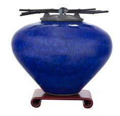 Raku Ceramic Cremation Urn for Ashes-Lapis Dodero Urns http://www.amazon.com/dp/B007LS76VK/ref=cm_sw_r_pi_dp_h.N8tb03Y7YE0