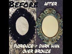 ASCP Florence+Bronze filigree mirror FULL TUTORIAL FAST - YouTube
