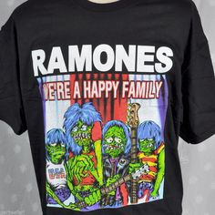 Versatility: a #Ramones t-shirt which can double as Halloween garb. Punk rock ghouls! New old stock in XL, L & M