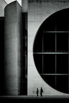 National Assembly Building of Bangladesh, by Louis Kahn, in Dhaka, Bangladesh. - National Assembly Building of Bangladesh, by Louis. Architecture Bauhaus, Le Corbusier Architecture, Space Architecture, Gothic Architecture, Amazing Architecture, Classical Architecture, Building Architecture, Louis Kahn, Luigi Snozzi