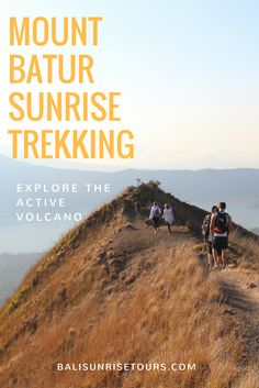 The Mount Batur Sunrise Trek is one of our most popular tours for good reason. Not only do you get to explore an active volcano and get up close and personal with one of Bali's most sacred mountains, but you also get to experience spectacular views of the sun bursting onto the horizon in a riot of oranges and yellows and slowly spreading over the caldera and lake below.