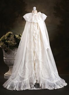 royalchristening Wide gathered netting ruffle... would love to do this just once.