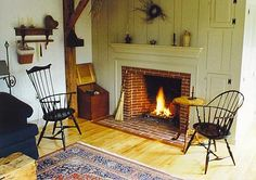 Windsor Chairs, Rockings Chairs, Dining Tables, Grandfather Clocks - all made by K. B. O'Connell in Maine