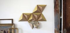 """""""The Tri-Angles"""", 8 ready to fold boxes from French Papier Tigre"""