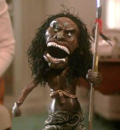 Zuni Doll from Trilogy of terror starring Karen Black - this thing kept me up at night, no lie.